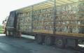 Służby zatrzymały nielegalny transport odpadów z Niemiec do Polski. Z ładunku spływała na ziemię ciecz o wyrazistym zapachu [FOTO]