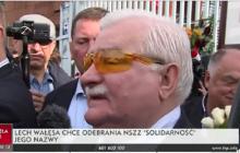 Lech Wałęsa chce odebrania NSZZ