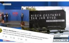 Rafał Ziemkiewicz skomentował kampanię billboardową promującą reformę sądownictwa. Mocne słowa pod adresem PiS