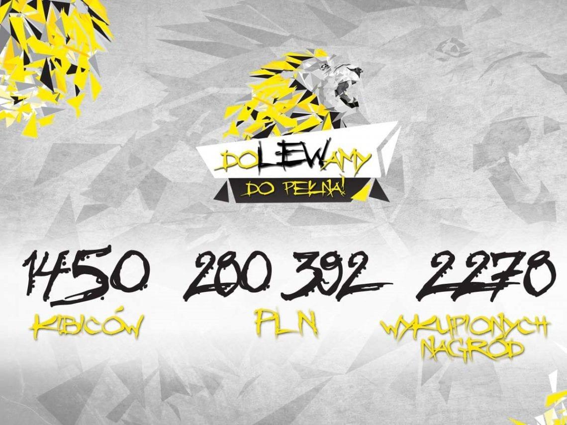 """1 450 osób """"doLEWało do pełna"""" – ogromny sukces  akcji crowdfundingowej Trefla Gdańsk"""