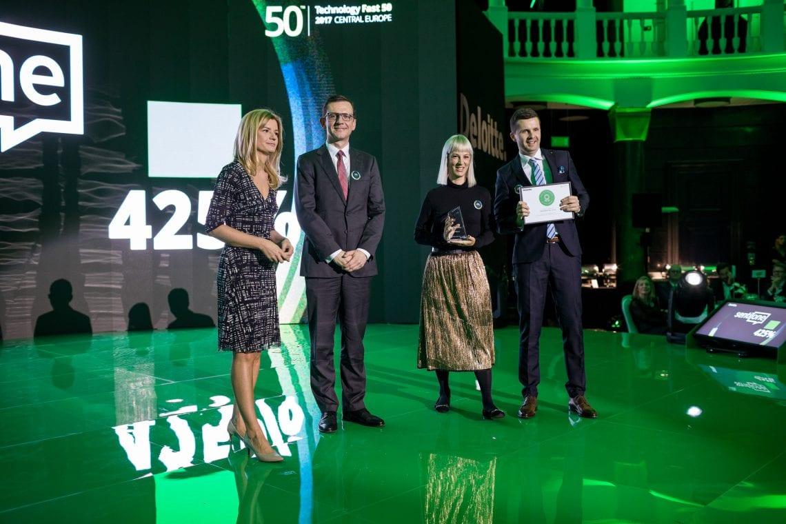 SentiOne wśród 50. najszybciej rozwijających się firm technologicznych w Europie Środkowej!