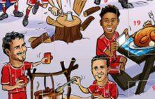 Wpadka Bayernu Monachium. Klub udostępnił do sprzedaży kalendarze adwentowe z... dużym błędem [FOTO]