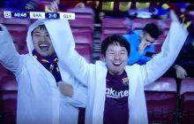 Kuriozalna sytuacja podczas meczu Barcelony. Zawodnik ujrzał czerwoną kartkę, a fani jego zespołu... wiwatowali [WIDEO]