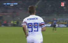 Fantastyczny gol Dawida Kownackiego w meczu z Interem Mediolan! [WIDEO]