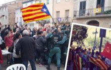 Kontrowersyjna flaga wśród zwolenników niepodległości Katalonii. To zdjęcie wywołało lawinę spekulacji [FOTO]