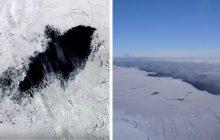 Gigantyczna dziura na Antarktydzie! Naukowcy nie potrafią tego wyjaśnić [WIDEO]