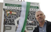 Na gdańskiej Morenie odsłonięto mural legendy Lechii