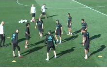 Ronaldo dał popis umiejętności i... ośmieszył kolegę na treningu! Inni gracze aż chwycili się za głowy [WIDEO]