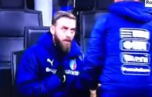 Włosi nie jadą na mundial! Buffon popłakał się przed kamerami, a De Rossi... nie chciał wejść na boisko [FOTO+WIDEO]
