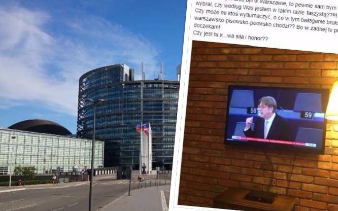 Polski pięściarz nie wytrzymał. W ostrych słowach skomentował wystąpienie jednego z polityków podczas debaty o Polsce w PE!