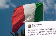 Zbigniew Boniek boleśnie zadrwił z Włochów. Nawiązał do ich problemów z imigrantami.