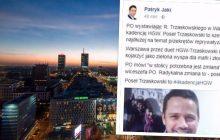 PO ogłosiła swojego kandydata na prezydenta Warszawy. Mocna riposta Patryka Jakiego