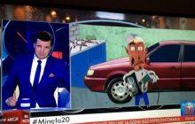 Fragment popularnej kreskówki wyemitowany na antenie TVP. Jedna ze scen posłużyła za ilustrację do głośnego projektu PiS