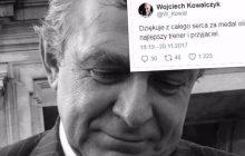Ulubieniec Janusza Wójcika pożegnał swojego