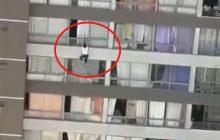 Kobieta spadła z dziesiątego piętra i... przeżyła. Pod blokiem złapał ją przechodzień. Niesamowite zdarzenie w Chile [WIDEO]