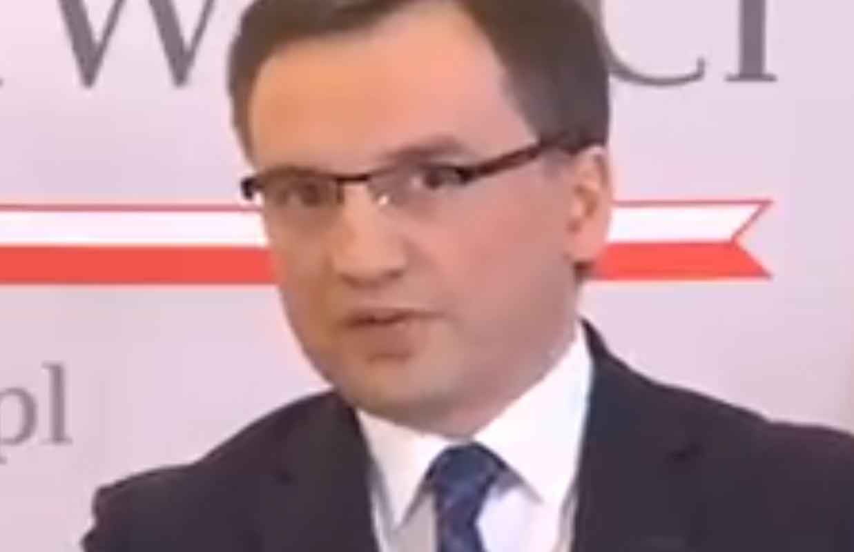 Zbigniew Ziobro kontra dziennikarka TVN.