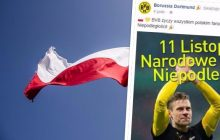Tego nikt się nie spodziewał. Czołowe kluby Serie A oraz Bundesligi złożyły Polakom życzenia z okazji Święta Niepodległości!