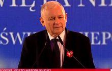 Jarosław Kaczyński po raz kolejny o reparacjach wojennych od Niemiec. Ostra wypowiedź podczas obchodów Święta Niepodległości.