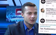Po wypowiedzi swojego rzecznika nt. czarnoskórych Polaków, Młodzież Wszechpolska dalej idzie w zaparte. Kompromitujący wpis na Twitterze organizacji