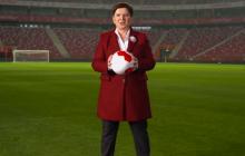Beata Szydło w sportowej stylistyce na dwa lata rządów PiS.