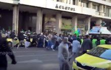 Imigranci chcieli na ulicy świętować urodziny Mahometa. Gdy zauważyli to kibice... koniec mógł być tylko jeden! [WIDEO]