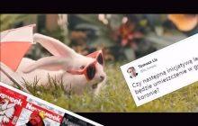 Królik w godle Polski? Tomasz Lis drwi z kampanii Ministerstwa Zdrowia. Internauci przypomnieli mu jednak niewygodną prawdę!