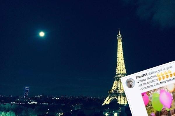 Kreda na chodniku już nie działa? Mieszkańcy Paryża mają nowy sposób na uczczenie rocznicy zamachów!