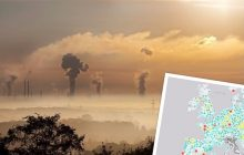 Interaktywna mapa jakości powietrza już dostępna! Każdy może sprawdzić poziom zanieczyszczeń w okolicy