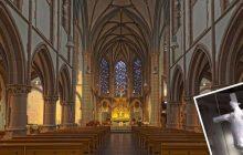 W belgijskim kościele ukrzyżowano... krowę. Kontrowersyjny