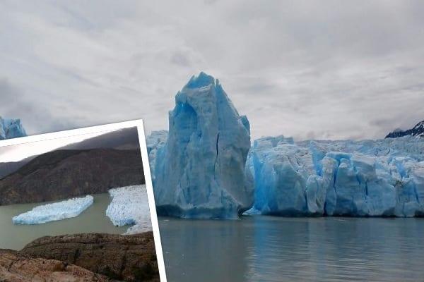 Olbrzymi płat lodu oderwał się od lodowca w Ameryce Południowej. To pierwszy przypadek od prawie 30 lat [FOTO]