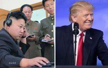 Trump straszy Kima...