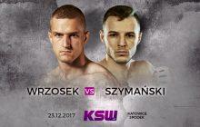 Marcin Wrzosek vs Roman Szymański oficjalnie na KSW 41