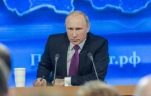 Władimir Putin informuje o nowej broni.