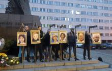Prokuratura wszczęła śledztwo w sprawie happeningu narodowców w Katowicach. Wieszali zdjęcia europosłów PO na szubienicach