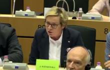 Europosłanka PO vs. europosłanka PiS. Burzliwa dyskusja na debacie ws. praworządności w Polsce [WIDEO]