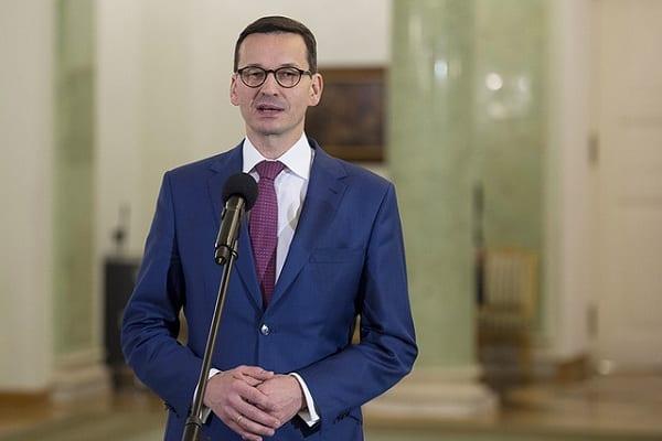 Morawiecki spotkał się z Poroszenką. Wyraził sprzeciw ws. blokowania ekshumacji na Ukrainie
