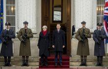 Premier Wielkiej Brytanii w Polsce.
