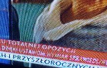 Kolejny kontrowersyjny pasek w TVP Info. Telewizja Publiczna obchodzi nietypową rocznicę