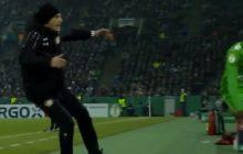 Trener niemieckiej drużyny chciał doprowadzić do ukarania zawodnika rywali, a zrobił z siebie pośmiewisko. Głos zabrał nawet Boniek! [WIDEO]