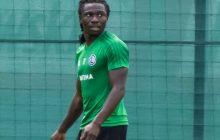 Nigeryjski portal internetowy podał, że piłkarz Legii padł ofiarą rasizmu.
