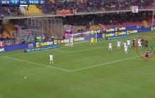 Niesamowita sytuacja w meczu włoskiej ekstraklasy.