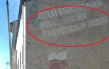Internauta zamieścił zdjęcie budynku powstałego w okresie PRL. Twierdzi, że napis, który się na nim znajduje dziś też byłby aktualny.