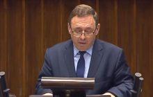 Poseł mniejszości niemieckiej przemawiał podczas posiedzenia Sejmu. Zdradził, co krzyczała w jego stronę posłanka PiS