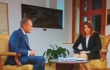 Tak Donalda Tuska nazwała dziennikarka przeprowadzająca z nim wywiad. Szef Rady Europejskiej uśmiechnął się, ale... nie zaprzeczył [WIDEO]