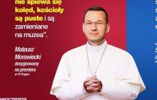 Nowoczesna uderza w Mateusza Morawieckiego. Publikuje jego zdjęcie... w papieskiej sutannie