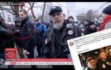 Kim jest mężczyzna, który zaatakował dziennikarkę TVP? Ochraniał m.in. Bronisława Komorowskiego!