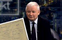 Znamy treść notatki SB na temat Jarosława Kaczyńskiego. Bezpieka tłumaczy, dlaczego nie udało się go zwerbować
