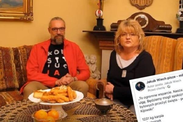 Dziennikarz wyliczył ile świątecznych produktów Kijowski mógłby kupić za swoje