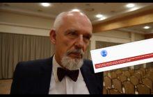 YouTube usunął konto z wystąpieniami Janusza Korwin-Mikke w Parlamencie Europejskim!