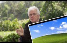 To on zrobił jedno z najpopularniejszych zdjęć na świecie. Jak znane z tapety miejsce wygląda po latach? [WIDEO]